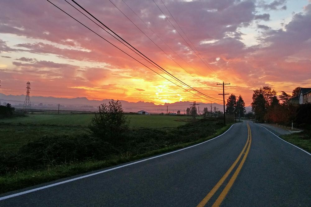 Snohomish sunrise