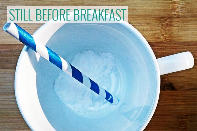 supplements before breakfast