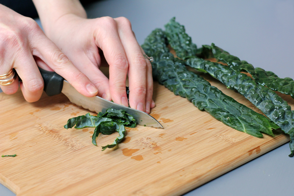 dino kale caesar salad