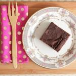 cardamom black bean brownie