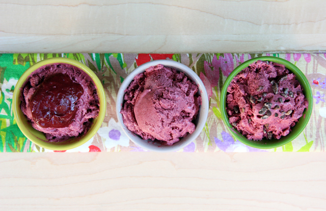 Marionberry Ice Cream