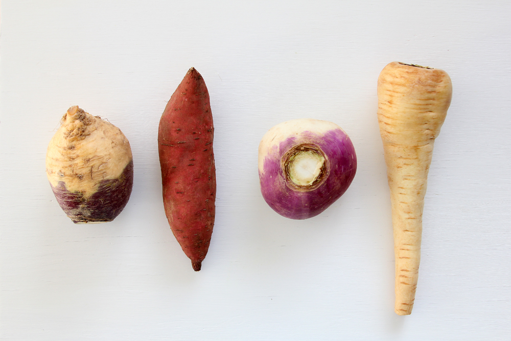 root vegetables for fries