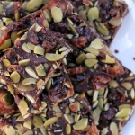 Salted Pumpkin Seed Christmas Bark