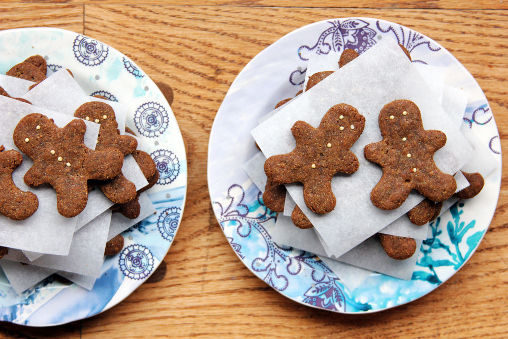 quinoa gingerbread men cookies