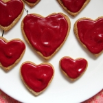 sugarless sugar valentines day cookies