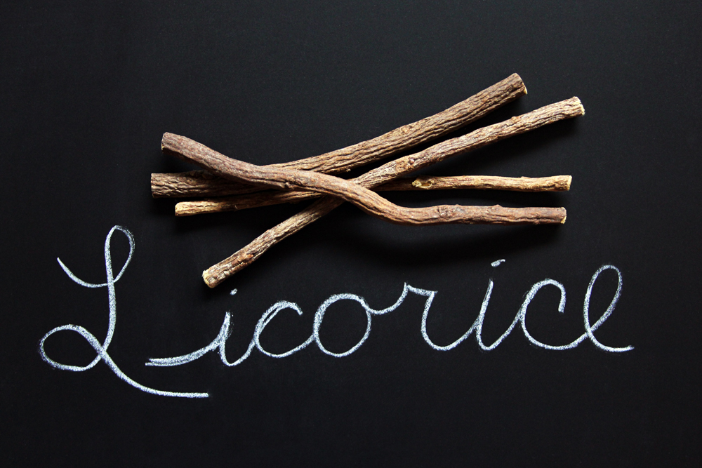 herb of the month licorice root Glycyrrhiza glabra