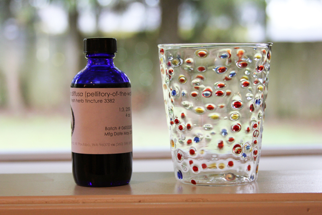 tincture anthropologie glass