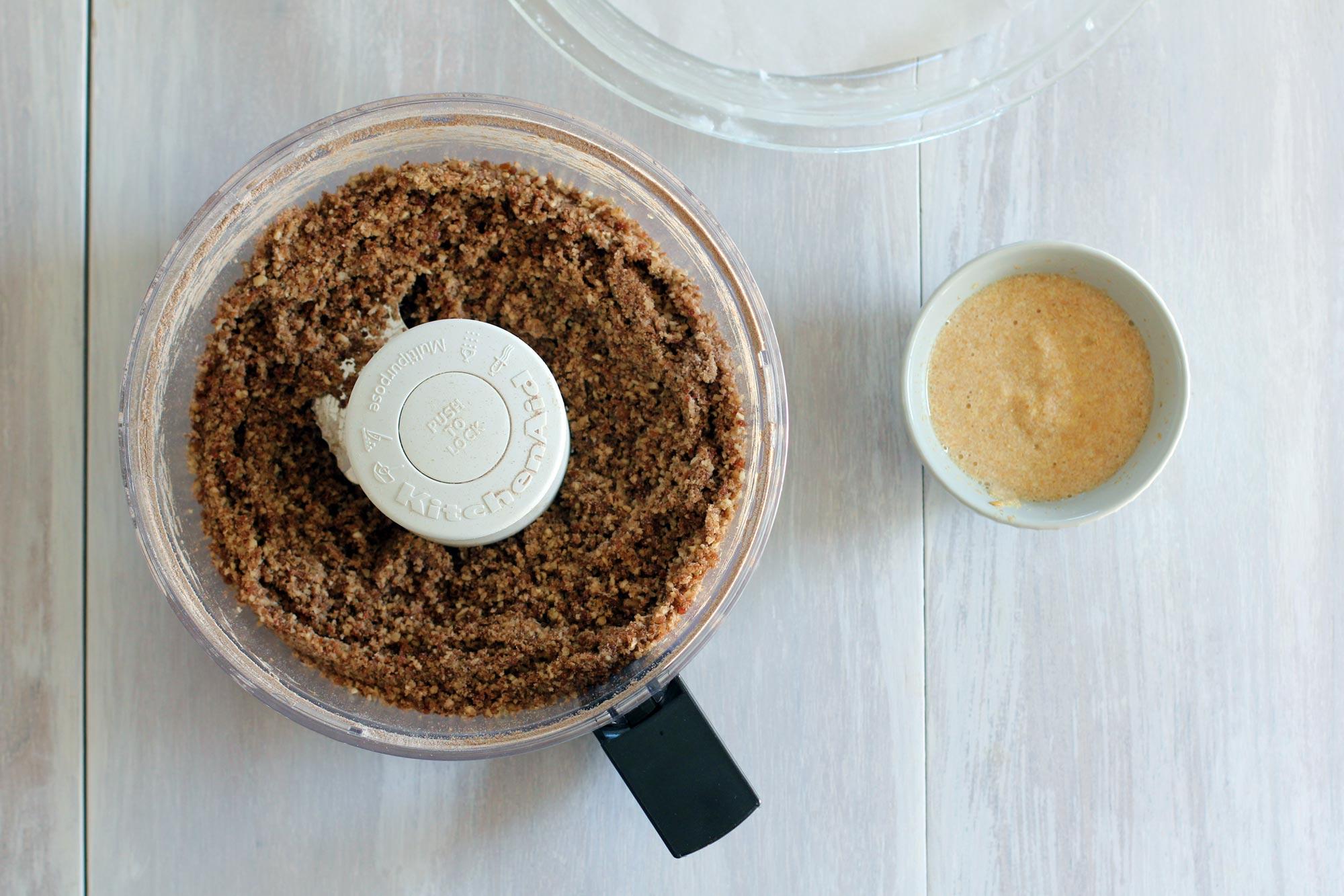 pie crust gluten free vegan in processor