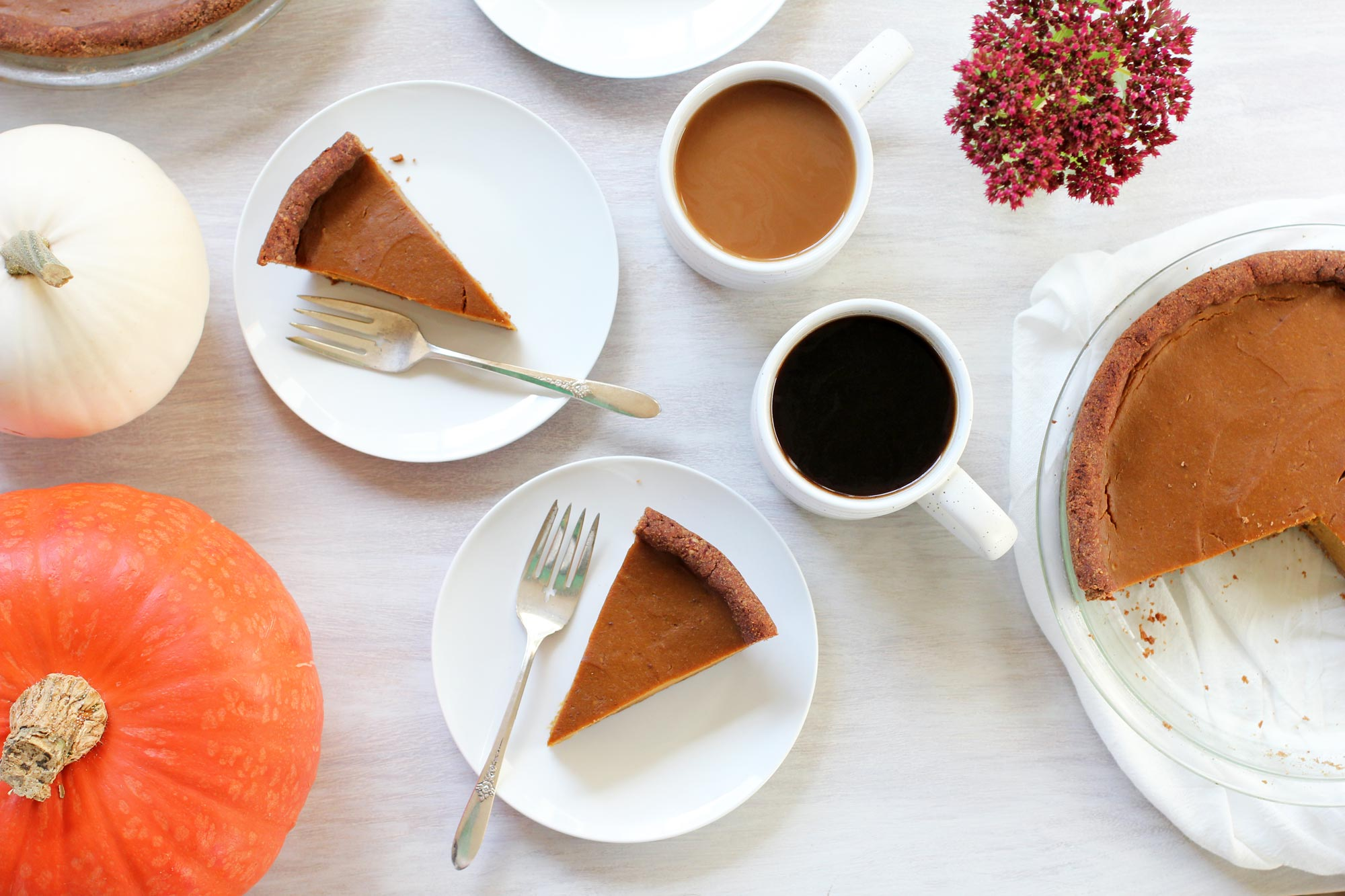 butternut squashed vegan pumpkin pie