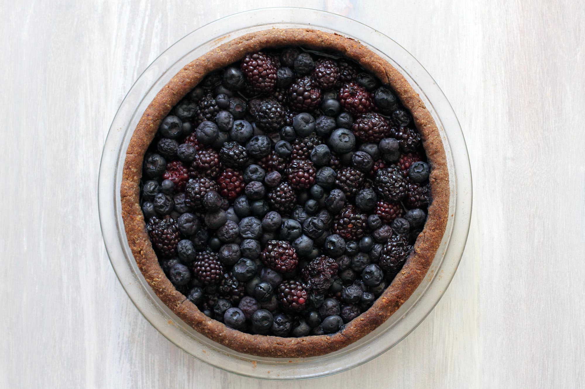 blueberry blackberry pie