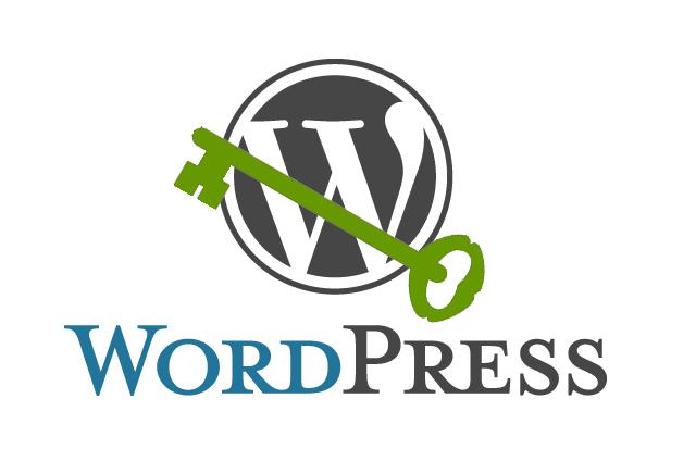 WordPress with secure key