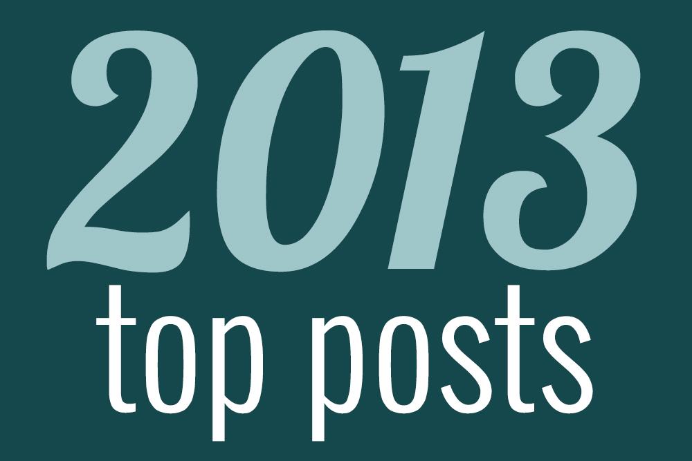 2013 top posts